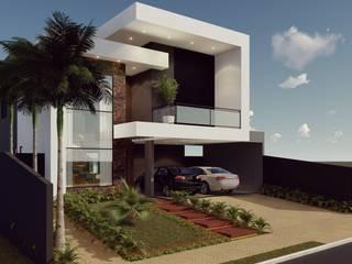 Projeto para Residencia: Casas  por Adriana Bartolomucci,Moderno