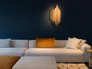 Wandlamp 'De Lat': modern  door PLANKSTAAL, Modern