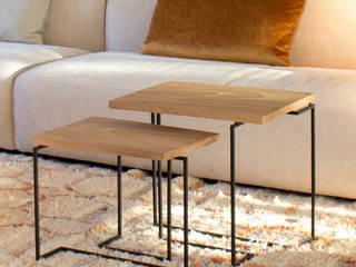 Salontafels 'De Wissel': modern  door PLANKSTAAL, Modern