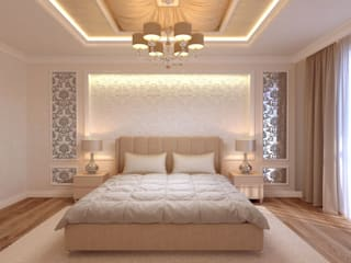 Classic style bedroom by Творческая мастерская Твердый Знак Classic