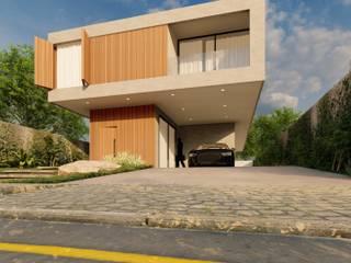Residência - R1 Atilo's Arquitetura Casas familiares