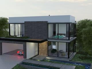 CASA E Casas modernas de D´ DOZE ARQUITECTURA Y DISEÑO Moderno