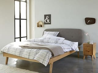 The H design BedroomBeds & headboards Solid Wood Brown