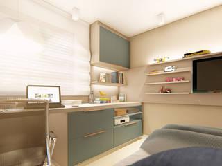 Quarto do Arthur - Asa Norte IEZ Design Quartos modernos