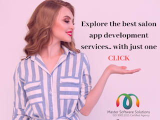 Salon Booking App Development Canada by Master Software Solutions