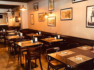 Restaurant BAR NACIONAL ISIDORA GOYENECHEA de arquifacility Clásico