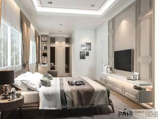 Project : Perfect Park - Ratchapruek:  ห้องนอน by PAI9 Interior Design Studio