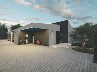 Moradia Unifamiliar _ PR / Unifamiliar Housing _ PR Casas modernas por FERREIRARQUITETOS Moderno