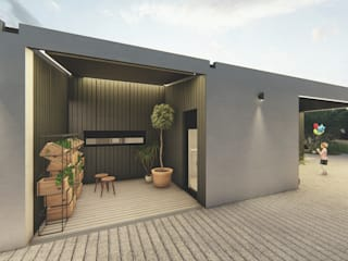 FERREIRARQUITETOS Modern conservatory