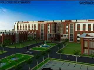 Institutional Project:  Houses by Sanrachna Design,