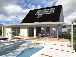 Moderner Garten von A.FUKE-PRIGENT ARCHITECTE Modern