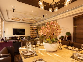 Luxury interior service for M3M Golf Estate Apartment: modern  by Mads Creations ,Modern