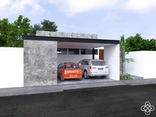 Дома в . Автор – Ileana Pérez Arquitectura + Diseño, Модерн