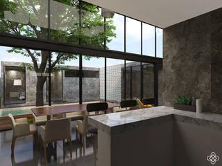 Кухни в . Автор – Ileana Pérez Arquitectura + Diseño, Модерн