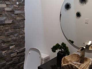 Baños modernos de Rabell Arquitectos Moderno
