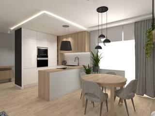Modern Kitchen by SPATIO PROJEKTOWANIE WNĘTRZ Modern