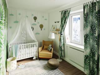 Проект квартиры для молодой семьи от Big Plan