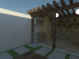 Projeto Residencial - MC por LEMA Arquitetura e Engenharia Moderno