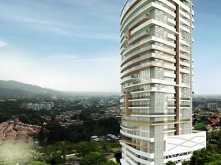 Modern Houses by Diseños y construcciones Dyco Modern