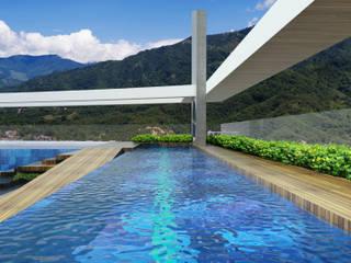 Modern Pool by Diseños y construcciones Dyco Modern