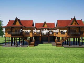 รับเขียนแบบบ้าน&ออกแบบบ้าน Wooden houses