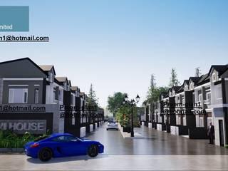 โครงการจัดสรรพื้นที่ โดย รับเขียนแบบบ้าน&ออกแบบบ้าน โมเดิร์น