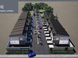 by รับเขียนแบบบ้าน&ออกแบบบ้าน Modern