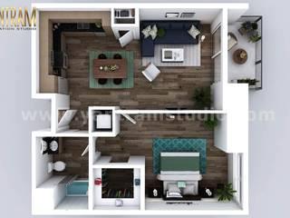 by Yantram Architectural Animation Design Studio Corporation Modern