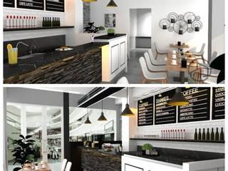 Salle à manger moderne par A.D Studio Bandung Moderne