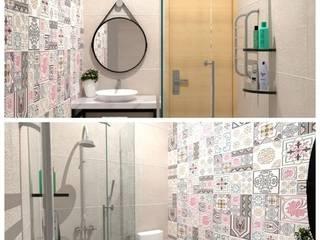 Salle de bain scandinave par A.D Studio Bandung Scandinave