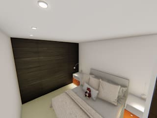 Small bedroom by SEQUOIA. Projects & Designs, Modern