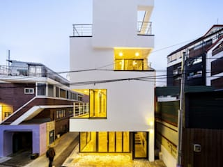 (주)건축사사무소 더함 / ThEPLus Architects Maisons modernes