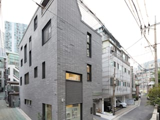 Condominio in stile  di 주택설계전문 디자인그룹 홈스타일토토,