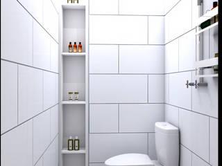 CV Leilinor Architect Bagno moderno Bianco