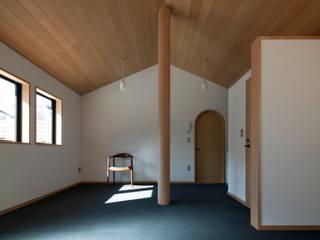 10坪の事務所 松井建築研究所 オリジナルデザインの リビング