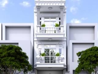 Nguyen Phong Thiết kế nội thất Single family home OSB White