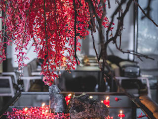 【室內軟裝設計 • 植物空間裝置】 根據 朱永安花藝