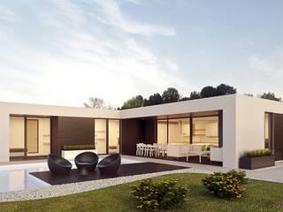 Casas prefabricadas y modulares de Casalium Moderno