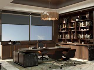 Bintang Barutama Office MODULA Bangunan Kantor Modern Brown