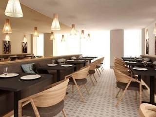 MIA arquitetos Salle à manger minimaliste