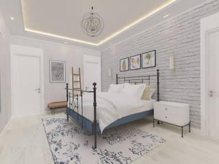 Korkuteli Köy Evi ASN İç Mimarlık Küçük Yatak Odası Ahşap Beyaz