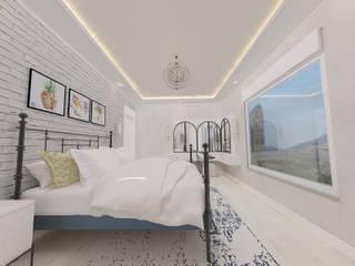 Korkuteli Köy Evi ASN İç Mimarlık Kırsal Yatak Odası