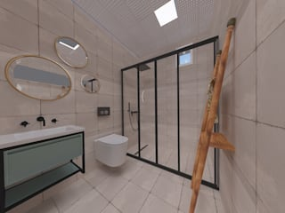 ASN İç Mimarlık ห้องน้ำ เซรามิค Green