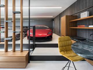 Garage/shed by destilat Design Studio GmbH,
