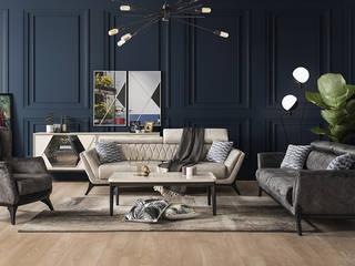 Modern Salon Takımları CaddeYıldız furniture Oturma OdasıKanepe & Koltuklar