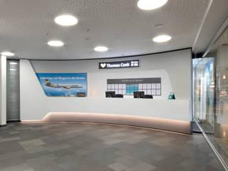 Flughafen Hannover-Langenhagen - Reise Servicecenter Terminal B Moderne Flughäfen von Hannibal Innenarchitektur Modern