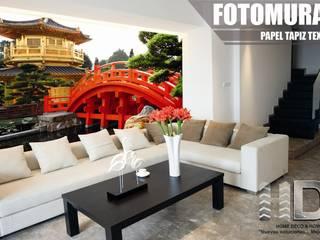 Vinilos y Fotomurales decorativos para muros y paredes   - Home Vinil :  de estilo  por HOME DECO & HOME GLASS,