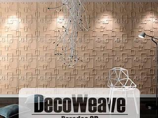 Paredes 3D - Decoweave:  de estilo  por HOME DECO & HOME GLASS,