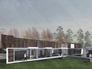 Casa Cepeda: Casas de estilo  por Logan Leyton Arquitectos,