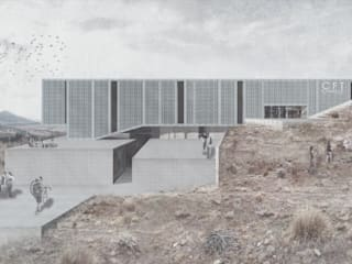 CFT Ovalle: Casas de estilo  por Logan Leyton Arquitectos,